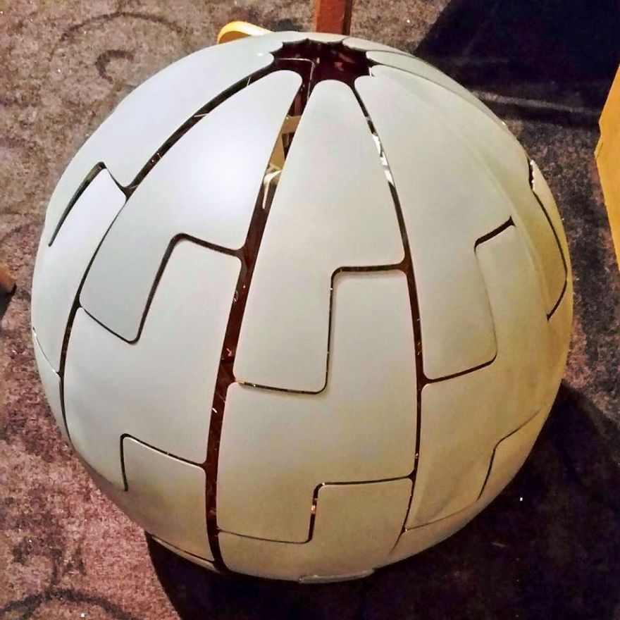 The-death-star-I-made-from-an-IKEA-lamp-1