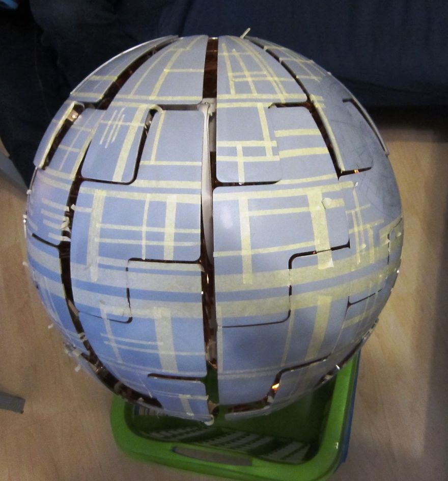 The-death-star-I-made-from-an-IKEA-lamp-2