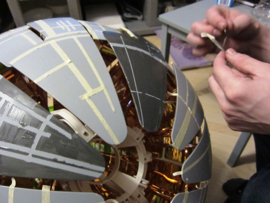 The-death-star-I-made-from-an-IKEA-lamp-5