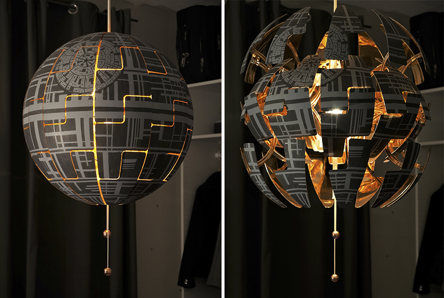 The-death-star-I-made-from-an-IKEA-lamp-7
