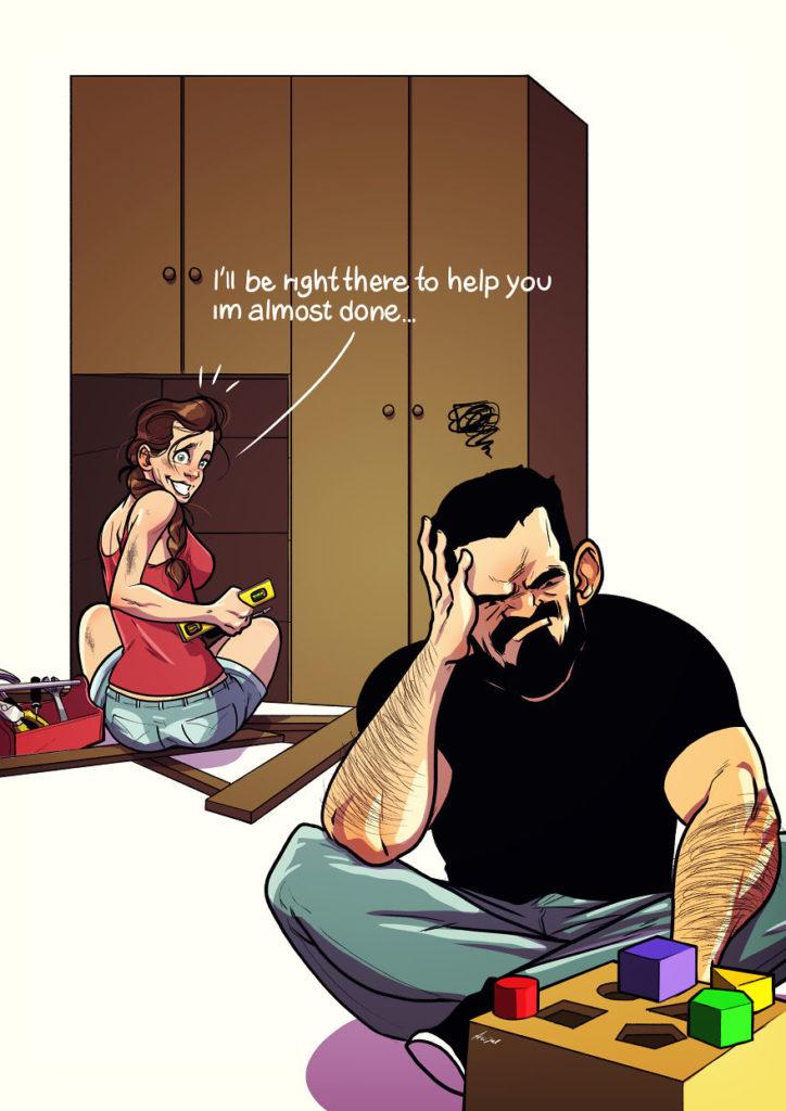 ilustracao de um casal 05