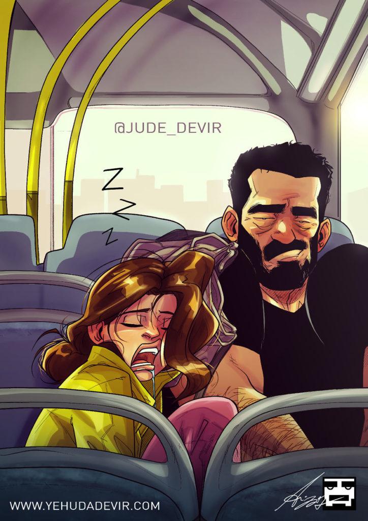 ilustracao de um casal 19