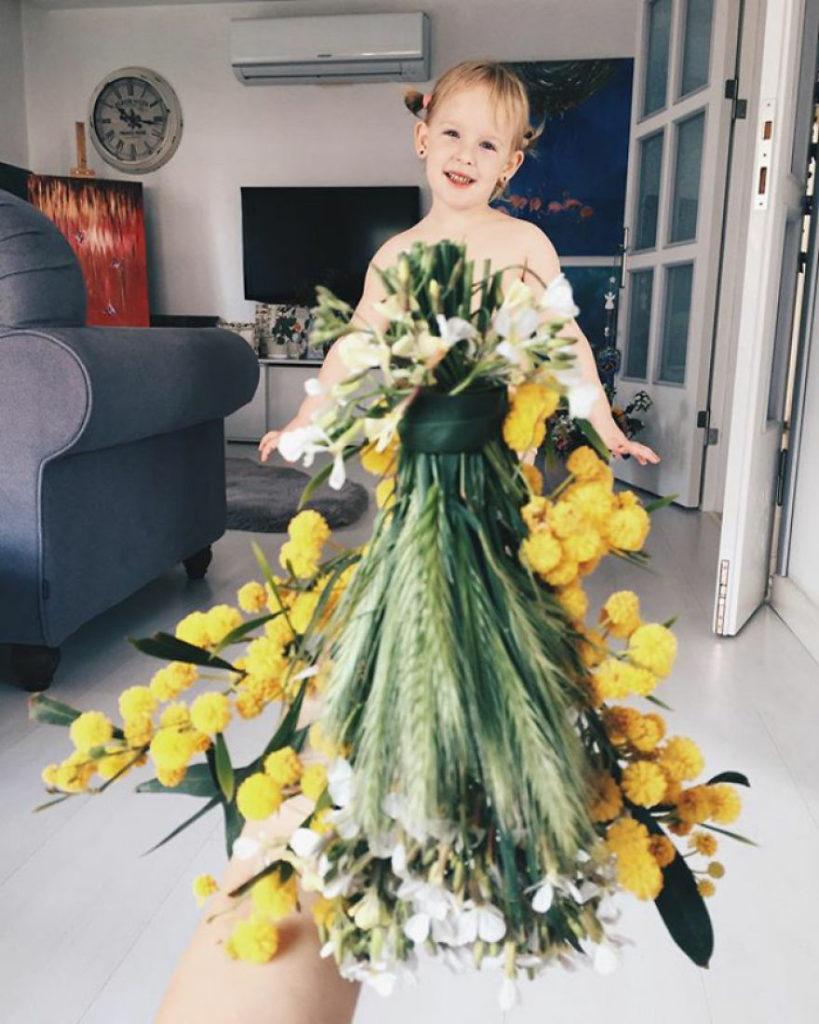mae veste filha com legumes frutas ilusao de optica 17