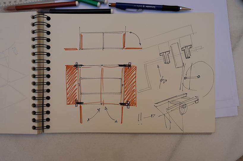 Designer contrói estúdio por baixo de uma ponte em Espanha 09
