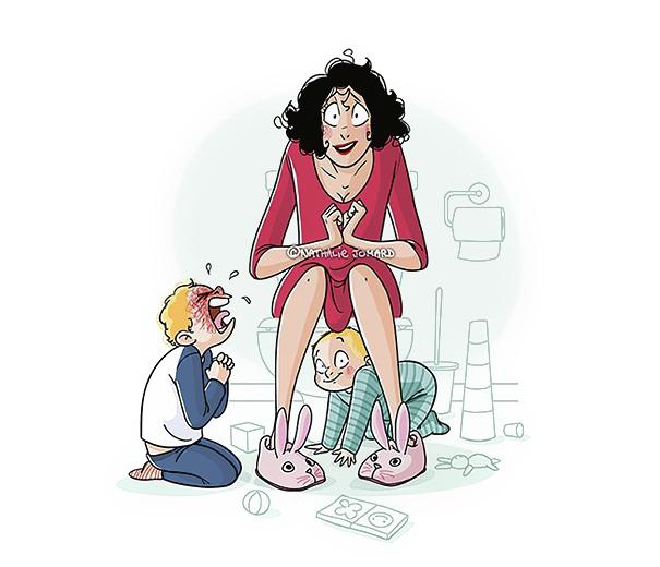 ilustrações que mostram o que realmente é ser mãe 02