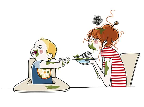 ilustrações que mostram o que realmente é ser mãe 15
