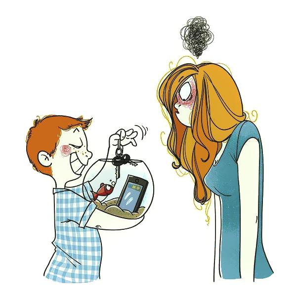 ilustrações que mostram o que realmente é ser mãe 20
